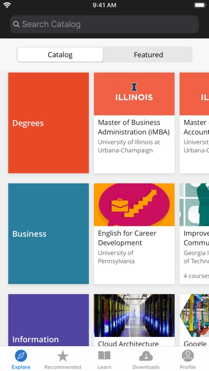 Coursera: Learn new skills