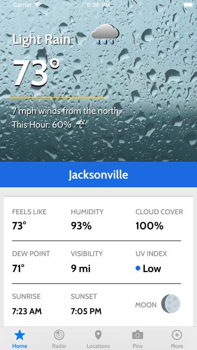 News4Jax Weather Authorityのおすすめ画像1