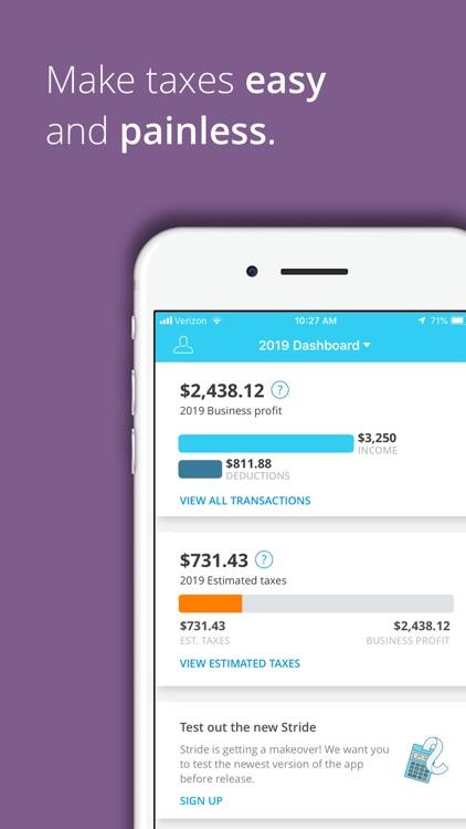Stride: Mileage & Tax Tracker screenshot-3