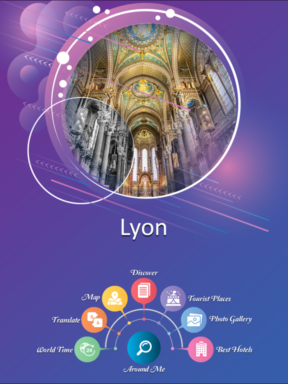 Lyon Tourist Guide screenshot 7