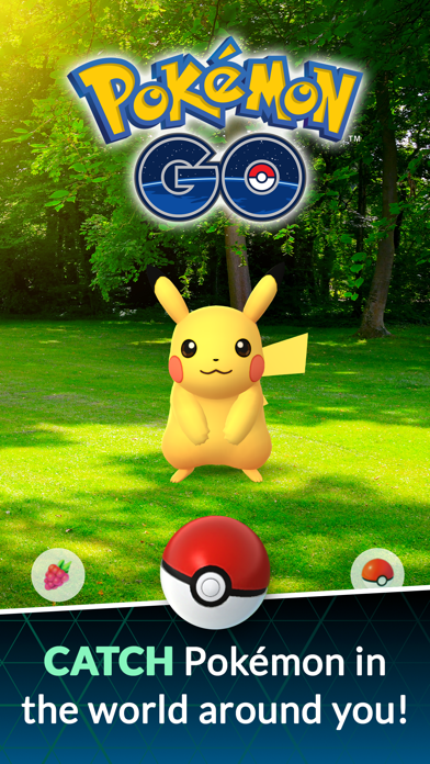 Pokémon GO Screenshot on iOS