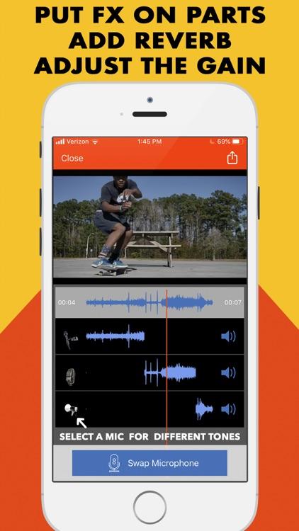 MicSwap Video Pro Audio Editor screenshot-0