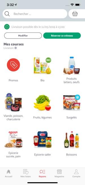 Carte Accord Auchan Compte Waaoh.Auchan France Dans L App Store