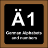 German Alphabets And Numbers