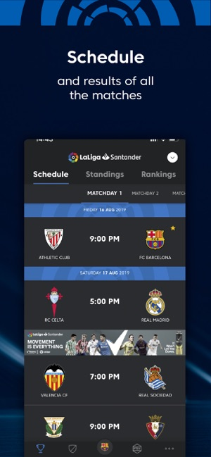 La Liga: Live Soccer Scores on the App Store