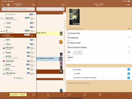 MyStuff2 Pro - Home Inventory and Database screenshot