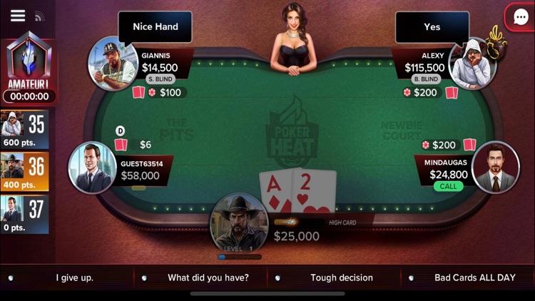 Poker Heat: Texas Holdem Poker screenshot-0