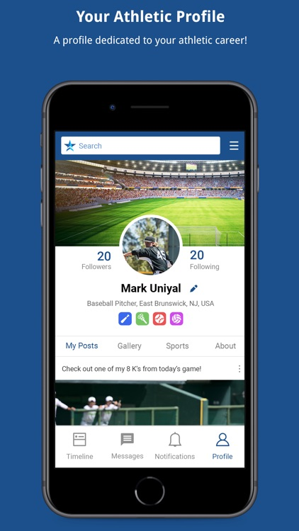 Level Up Sports - Recruiting