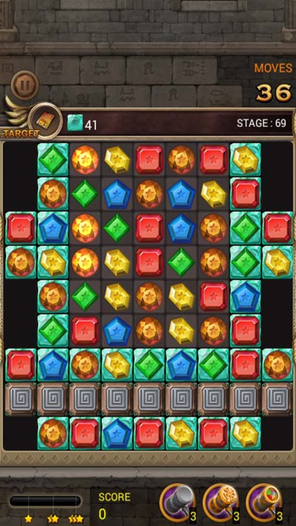 Jewels Temple Quest - Match 3 screenshot-4
