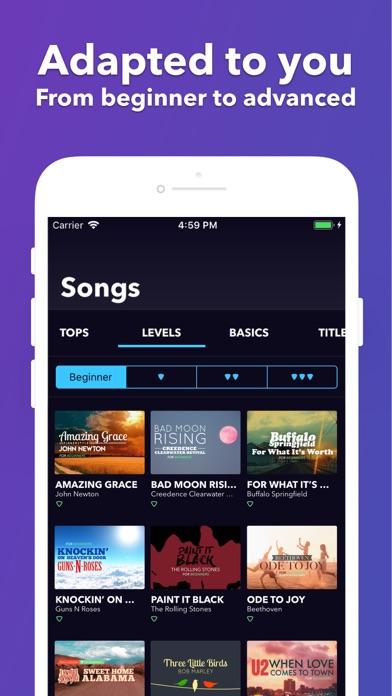 coach guitar gitaar akkoorden app voor iphone ipad en ipod touch appwereld. Black Bedroom Furniture Sets. Home Design Ideas