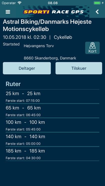 SPORTI Race GPS