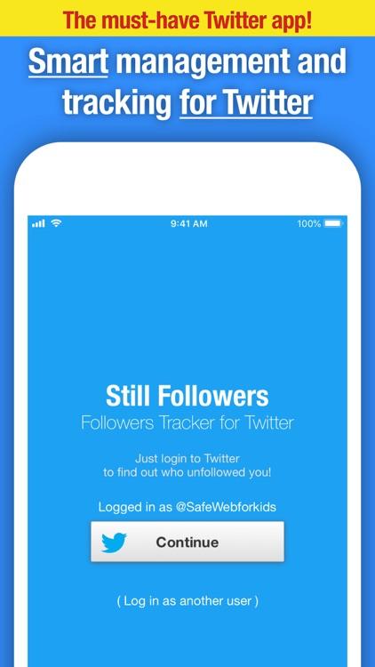 Still Followers for Twitter screenshot-4