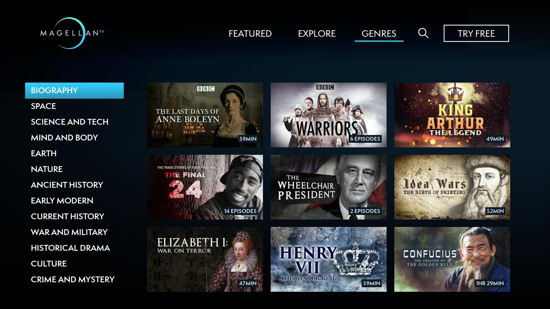 MagellanTV Documentaries screenshot 21