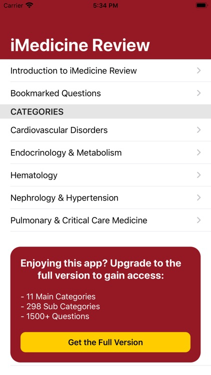 iMedicine Review Lite