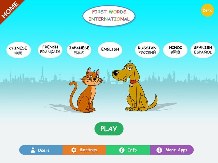 First Words Int. Home HD screenshot-0