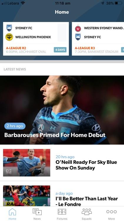 Sydney FC Official App