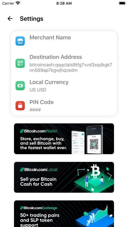 Bitcoin Cash Register screenshot-3