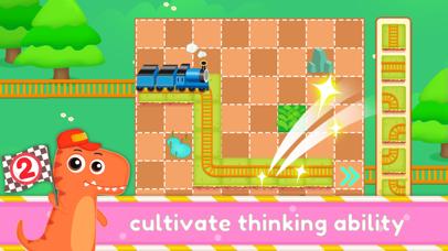 Dinosaur Kids Logic Math Game2 screenshot 3