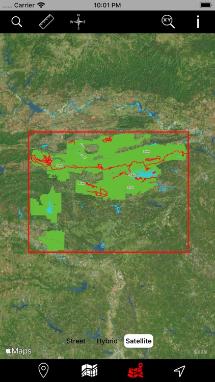 Ouachita National Forest – GPS