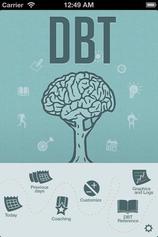 DBT Diary Card & Skills Coach - náhled