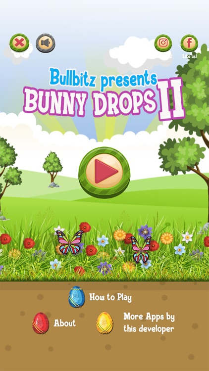Bunny Drops 2 - Match 3 puzzle screenshot-0