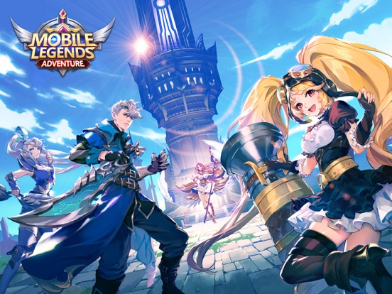 Mobile Legends: Adventure на iPad
