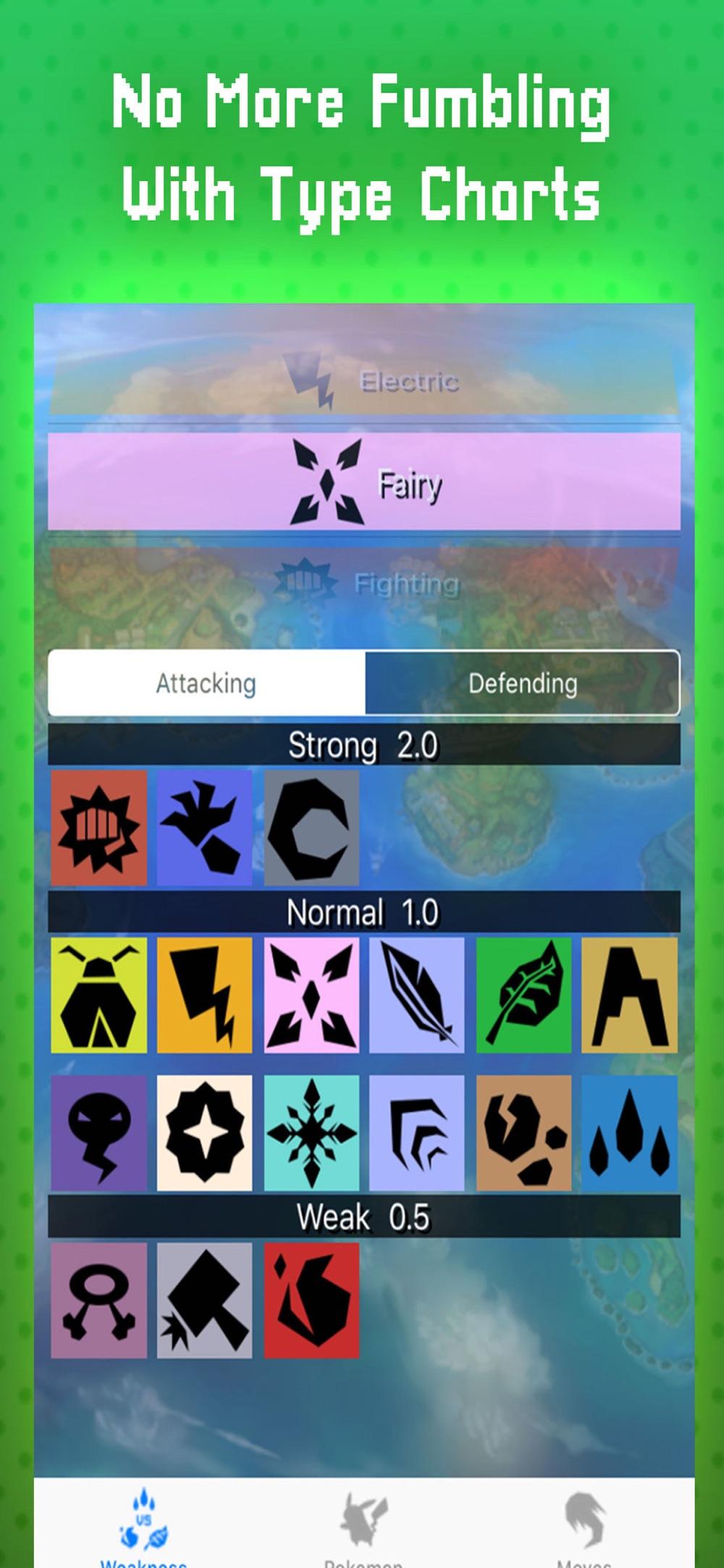Poke Battle Guide To Weakness Cheat Codes