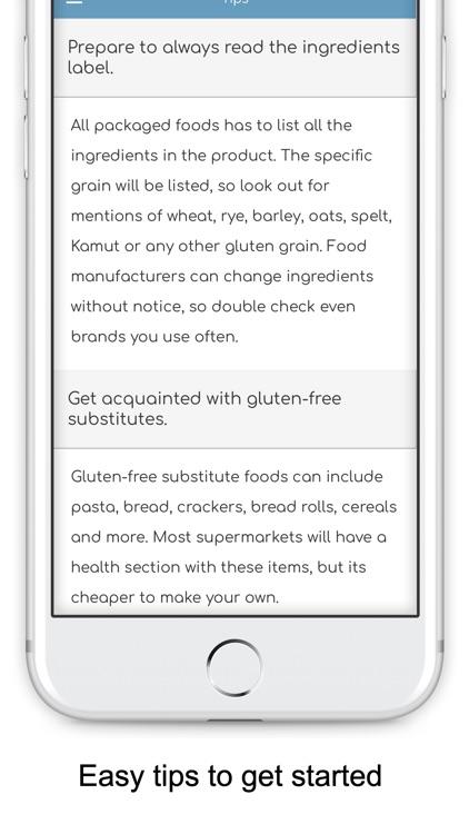 Gluten Free Diet Guide & List screenshot-5