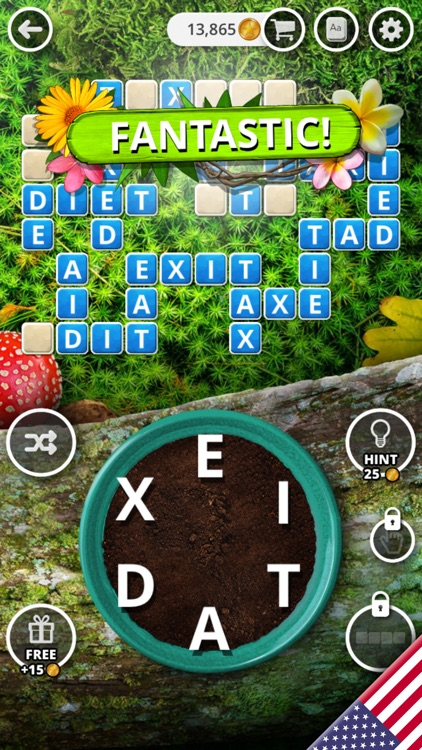 Garden of Words - Word Game screenshot-5