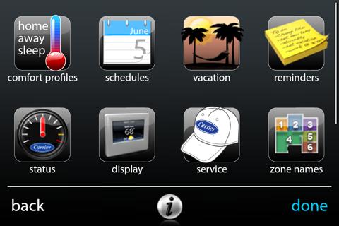 MyInfinity Touch - náhled