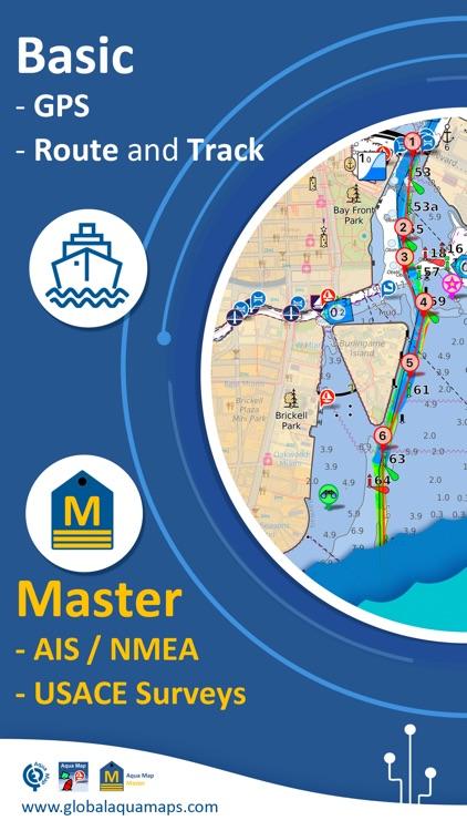 Aqua Map USA: Marine & Lake screenshot-0