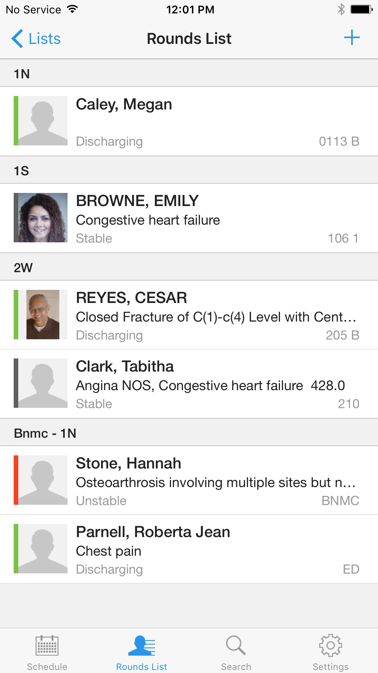 Cerner Instanote Screenshot