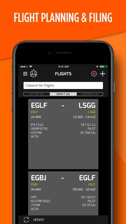 RocketRoute FlightPlan screenshot-3