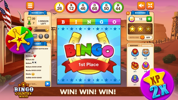 Bingo Country Ways -Bingo Live screenshot-4