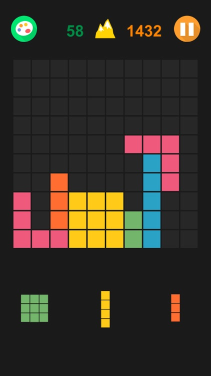 Hex & Square Block Puzzle Game screenshot-0