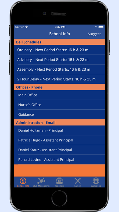 GNNHS--A Tool For Students screenshot 3
