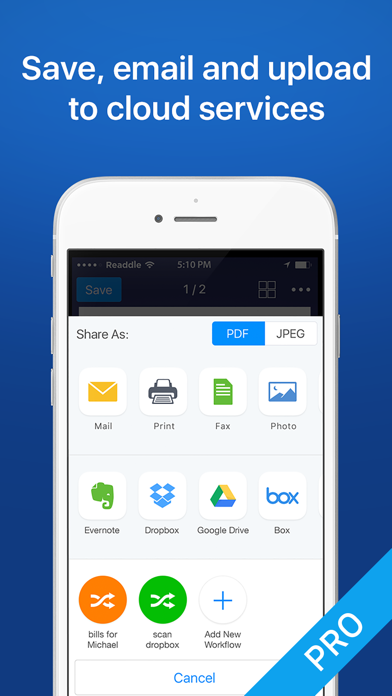 Scanner Mini by Readdle screenshot four