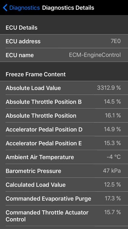 OBD Evolution: Car Diagnostics screenshot-5