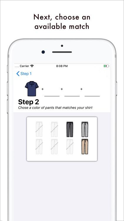 The Clothes Matcher screenshot-3