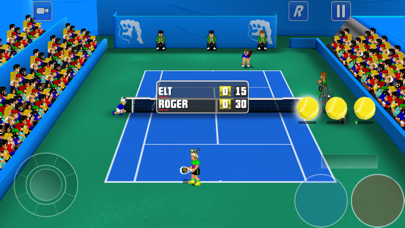 Screenshot from Tennis Champs Season 3
