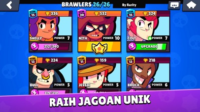 Screenshot for Brawl Stars in Indonesia App Store