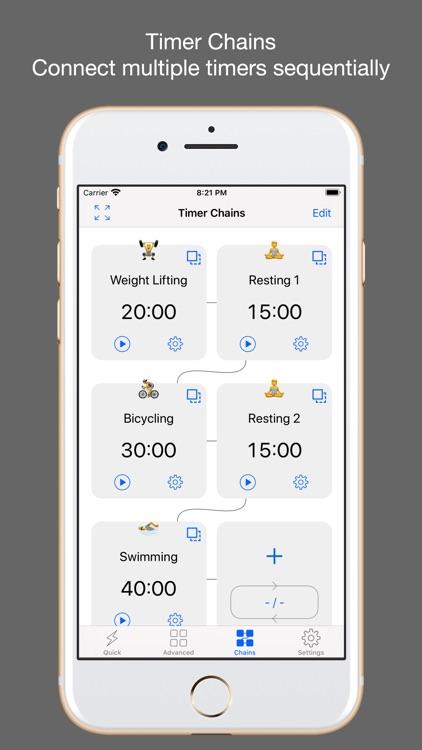 1Timer Lite - Voice Timer screenshot-3