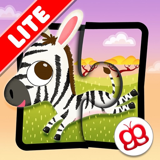 Wildlife Puzzles 123 Lite icon