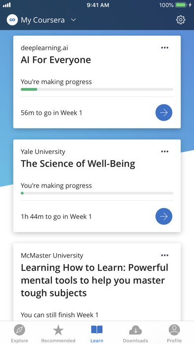 Coursera: Learn new skills by Coursera (iOS, United States