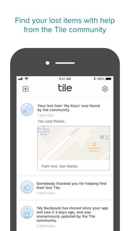 Tile - Find lost keys & phone screenshot-4