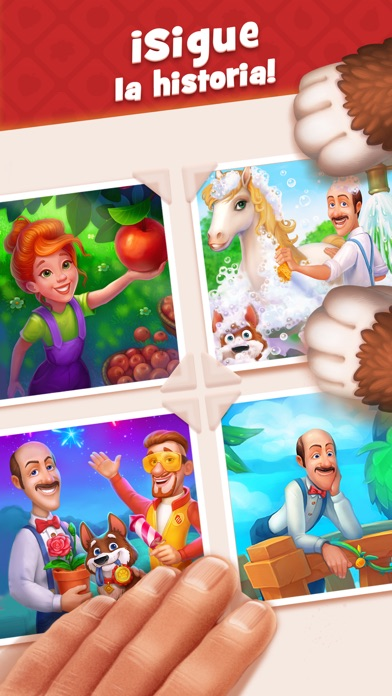 Screenshot for Gardenscapes in Peru App Store
