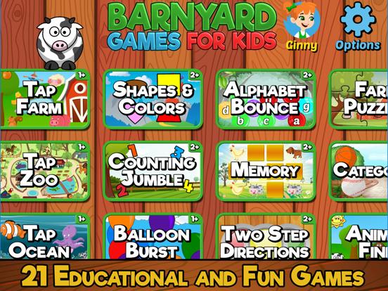 Barnyard Games For Kids screenshot