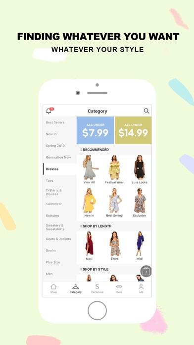 Screenshot for SHEIN-Fashion Shopping Online in Greece App Store