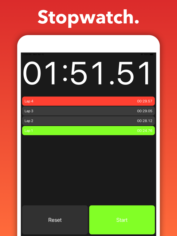 Seconds - Interval Timer screenshot