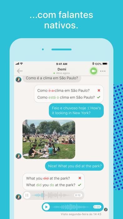 Screenshot for Tandem:estude com estrangeiros in Brazil App Store